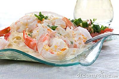 Shrimp Linguine 3