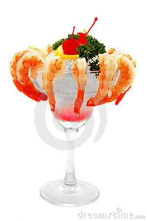 Free Shrimp On Ice Stock Image - 907071
