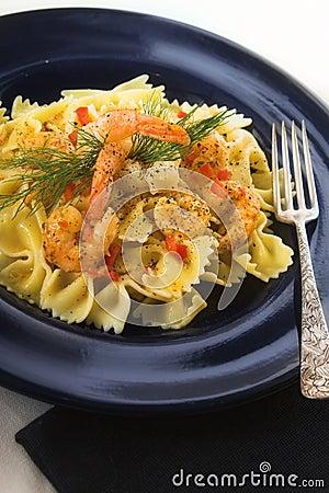 Free Shrimp Pasta Stock Photos - 5796723
