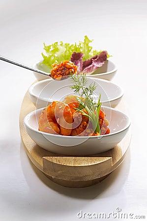 Free Shrimp Salad Royalty Free Stock Image - 13447946