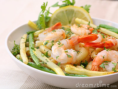 Shrimp salad
