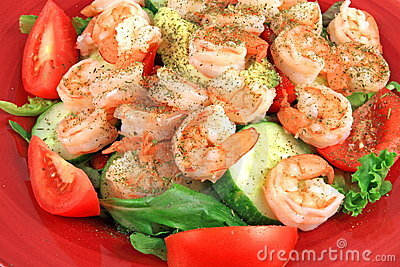 Shrimp Salad Feast