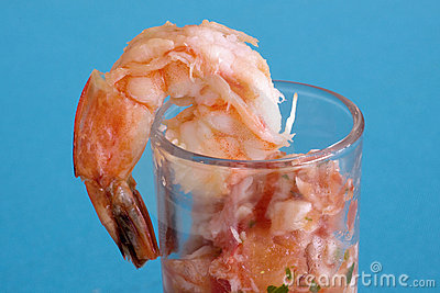 Shrimp & Salsa Shooter 2