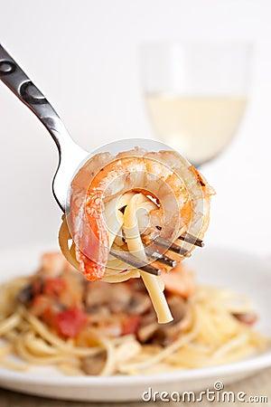 Free Shrimp Scampi Stock Photos - 13334693