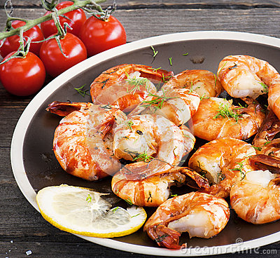 Free Shrimp Sea Food Royalty Free Stock Images - 64308179