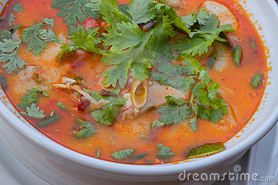 Shrimp soup,Thai food