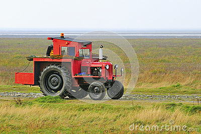 Shrimping Tractor, Southport