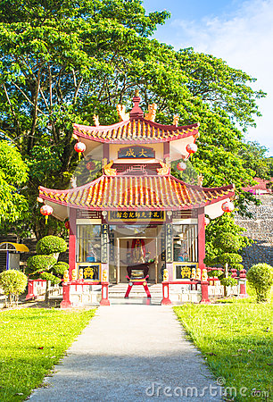 Shrine of china building in thailand