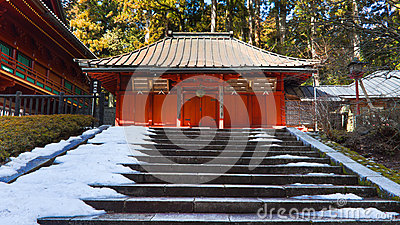 Shrine at Rinnoji Temple, Nikko, Japan Editorial Stock Photo
