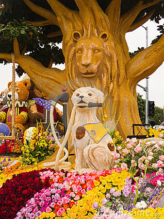 The Shriners Hospitals Rose Bowl Float Editorial Photo