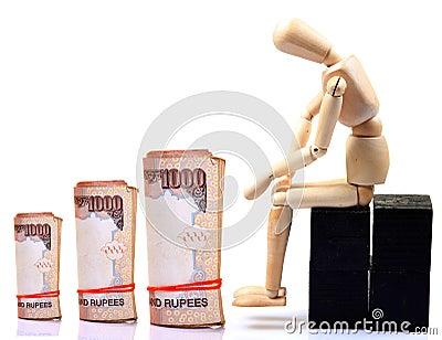 Shrinking money