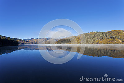 Shudu lake in Autumn