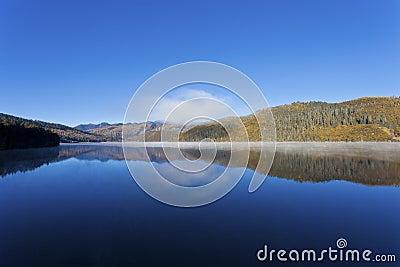 Shudu lake in Autumn