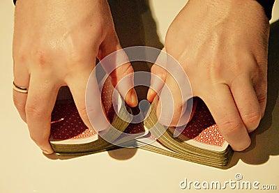 Shuffling Cards Free Public Domain Cc0 Image