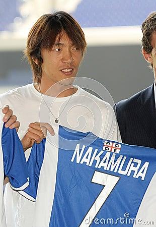 Shunsuke Nakamura presentation Editorial Image