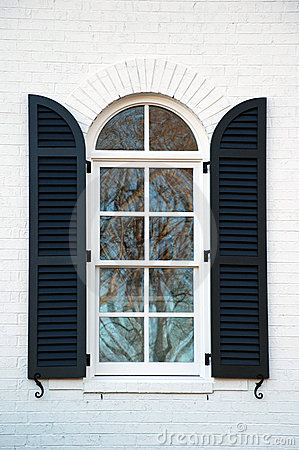 Free Shuttered Window Royalty Free Stock Image - 12333436