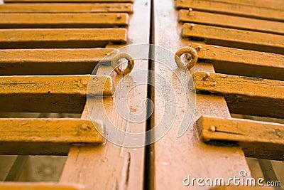 Shutters wooden