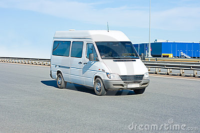 Shuttle Bus Stock Image - Image: 5209841