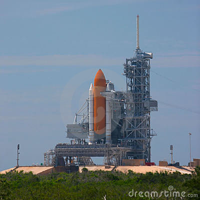 Free Shuttle Launch Pad 39B Royalty Free Stock Images - 272719