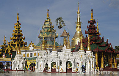 Shwedagon Pagoda 3 Editorial Photography