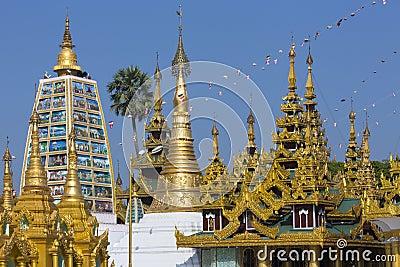 Shwedagon Pagoda Complex - Yangon - Myanmar