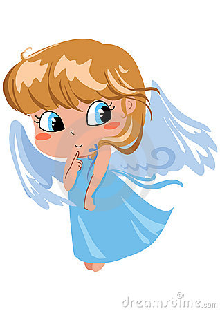 Free Shy Angel Stock Photos - 1288543