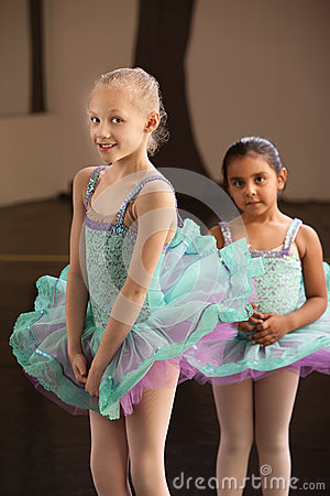 Shy Ballet Students