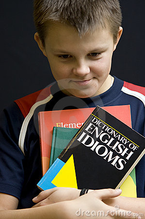 Shy English student