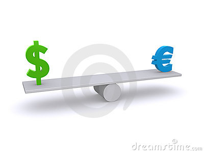 ευρώ δολαρίων ισορροπία&si