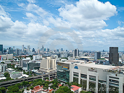 Siam Paragon is one of Bangkok s main shopping Editorial Stock Photo