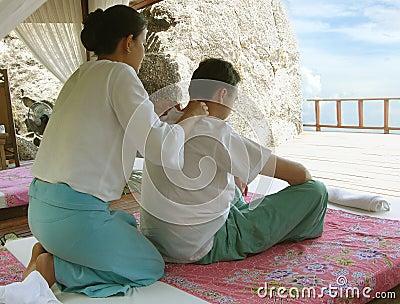 Siamesische Massage