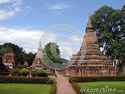 Siamesische Tempel
