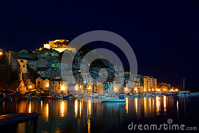 Sibenik night