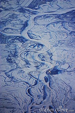 Siberia aerial