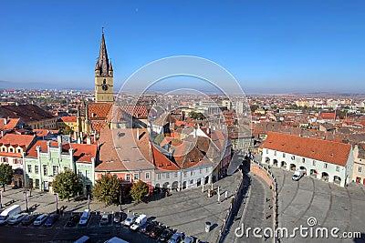 εναέρια Ρουμανία Sibiu