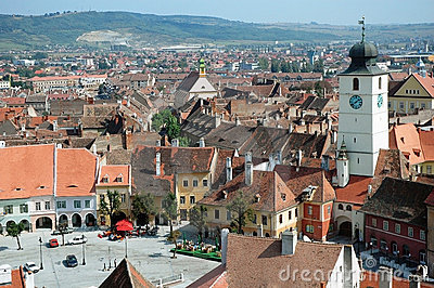 Sibiu, a beautiful Romanian city, the cultural cap