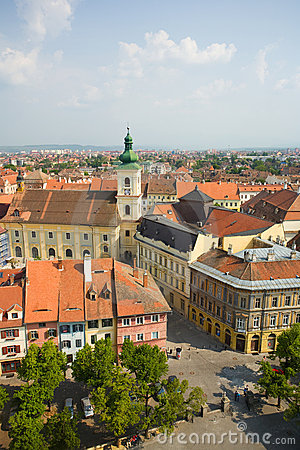 Sibiu, a beautiful town in Romania