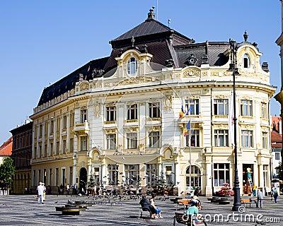 Sibiu cityhall Editorial Image