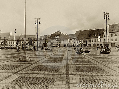 Sibiu/hermannstadt Editorial Stock Photo