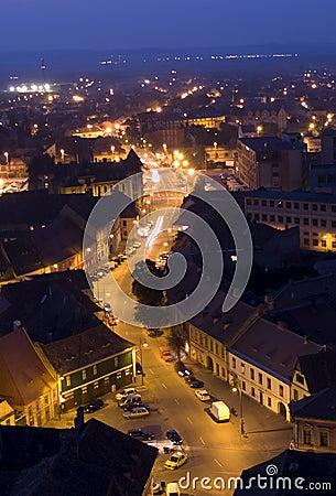 Sibiu by night