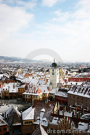 Sibiu panoramical view