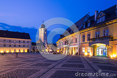 Sibiu, Romania Editorial Photography