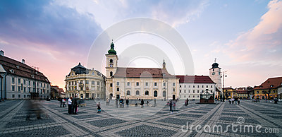 Sibiu, Romania Editorial Stock Image