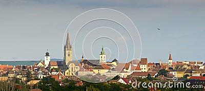 Sibiu skyline