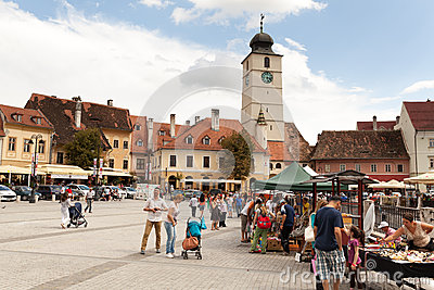 Sibiu Editorial Image