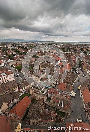 Sibiu Transylvania Romania Stock Photo