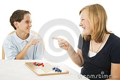 Siblings Play Games