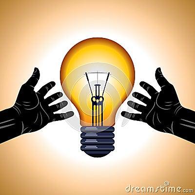 Sichern Sie Energieidee