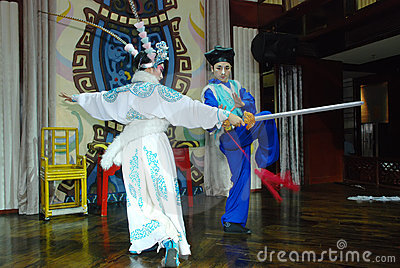 Sichuan Opera Editorial Stock Photo