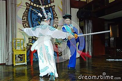 Sichuan Opera Editorial Stock Photo